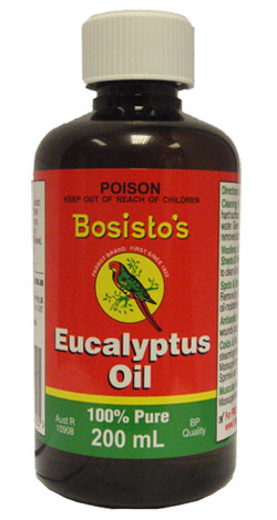 Bosistos Eucalyptus Oil (175ml)