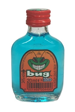 Bug Alcoholic Shooters - Blue (20ml)