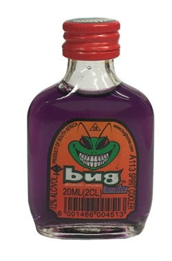 Bug Alcoholic Shooters - Booster (20ml)