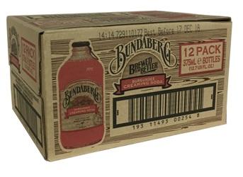 Bundaberg Burgundee Creaming Soda (12 x 375ml bottles)