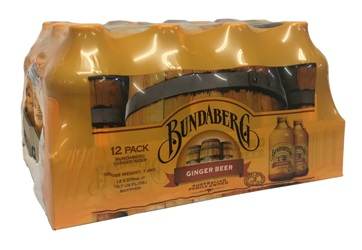 Bundaberg Ginger Beer  (12 x 375ml Bottles)