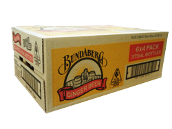 Bundaberg Ginger Beer (24 x 375ml bottles)
