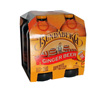 Bundaberg Ginger Beer  (4 x 375ml bottles)