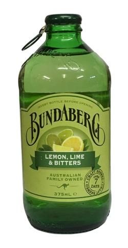 Bundaberg Lemon, Lime & Bitters Stubby (375ml)