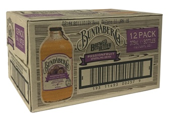 Bundaberg Sparkling Passionfruit (12 x 375ml bottles)