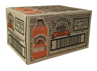 Bundaberg Peach Stubby (12 x 375ml bottles)