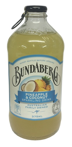 Bundaberg Pineapple Coconut (375ml bottle)