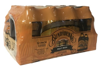 Bundaberg Root Beer  (12 x 375ml Bottles)