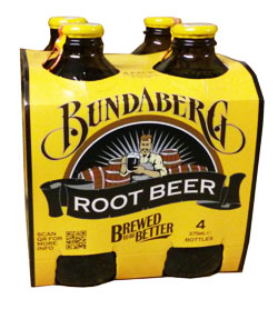 Bundaberg Root Beer  (4 x 375ml bottles)
