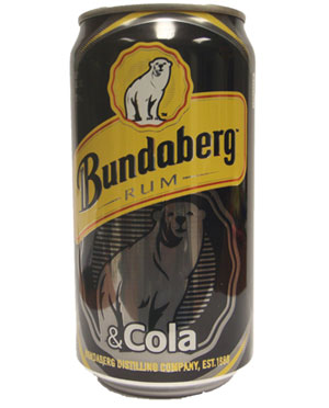 Bundaberg Rum & Cola Can (375ml)