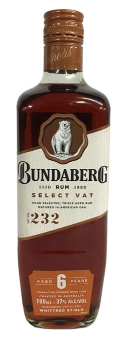 Bundaberg Rum - Select Vat (700ml)