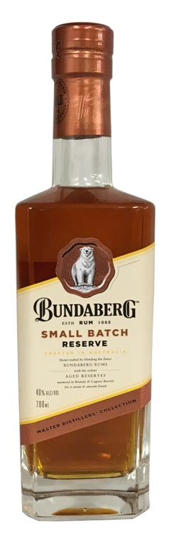 Bundaberg Master Distillers Collection Small Batch Reserve (700ml)