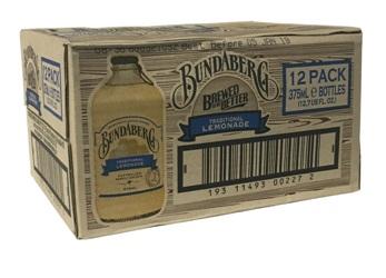 Bundaberg Traditional Lemonade - Australian Import (12 x 375ml bottles)