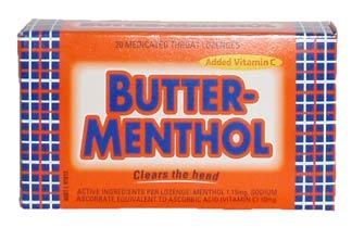 Allens Butter Menthol (20 Lozenges)