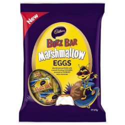 Cadbury Buzz Bar Marshmallow Eggs  (325g)