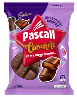 Cadbury Pascall Caramels (160g)