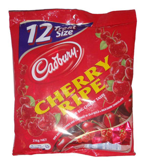 Cadbury Cherry Ripe Sharepack (180g)