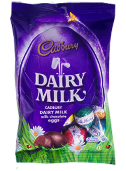 Cadbury easter egg bag new zealand easter eggs cadbury dairy milk chocolate easter eggs 125g negle Gallery