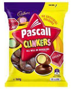 Cadbury Pascall Clinkers (160g)