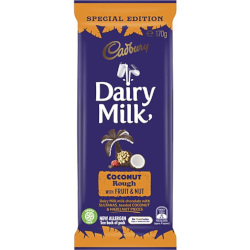 Cadbury Coconut Rough Fruit & Nut (170g)