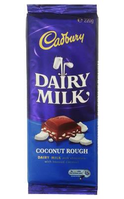 how to make cadbury coconut rough