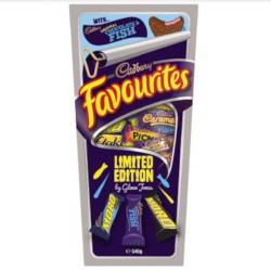 Cadbury Favourites with Chocolate Fish (540g)