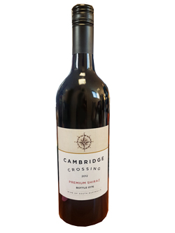 Cambridge Crossing Premium Shiraz 2012 (750ml)