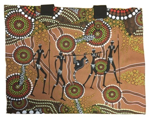 Canvas Bag - Aboriginal Art Hunters