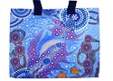 Canvas Bag - Aboriginal Art Dolphin
