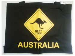 Canvas Bag - Road Sign