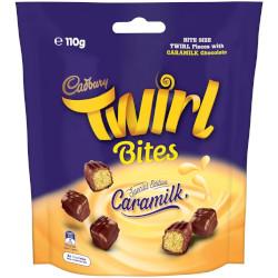 Cadbury Caramilk Twirl Bites (110g)