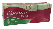 Carefree Flexia Super Tampons (16pk)
