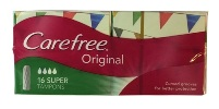 Carefree Original Super Tampons (16pk)