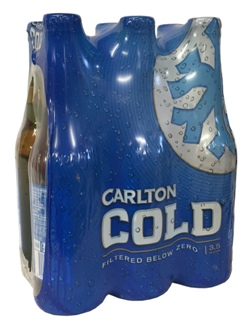 Carlton Cold (6 x 355ml bottles)