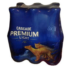 Cascade Premium Light Lager (6 x 330ml bottles)