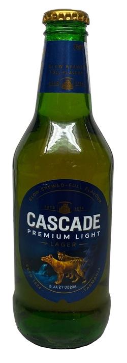 Cascade Premium Light Lager (330ml bottle)
