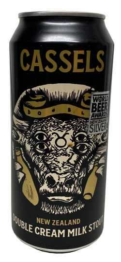 Cassels Double Cream Milk Stout (440ml Can)