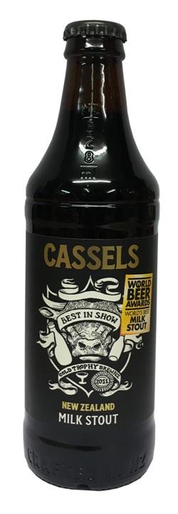 Cassels Milk Stout (328ml Bottle)