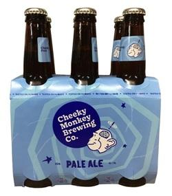 Cheeky Monkey Pale Ale (6 x 330ml bottles)