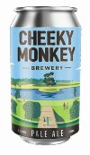 Cheeky Monkey Pale Ale (4 x 375ml cans)