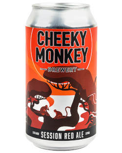 Cheeky Monkey Session Red (4 x 375ml cans)
