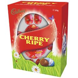 Cadbury cherry ripe easter egg gift box chocolate from australia cadbury cherry ripe easter egg gift box 205g negle Gallery