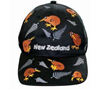 NZ Childrens Cap - Black
