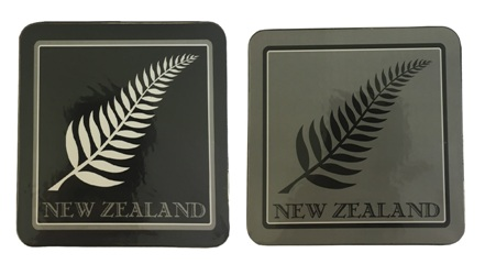 Coasters - NZ Fern (Set of 2)