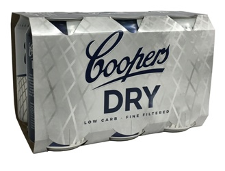 Coopers Dry (6 x 375ml Cans)