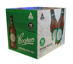 Coopers Pale Ale (12 x 375ml bottles)