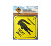 Metal Road Sign - Crocodiles Next 2km (Small)