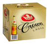 Crown Lager (12 x 375ml bottles)