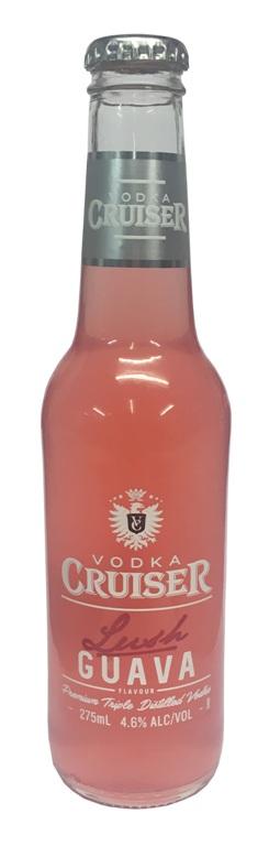 Vodka Cruiser - Lush Guava (275ml bottle)