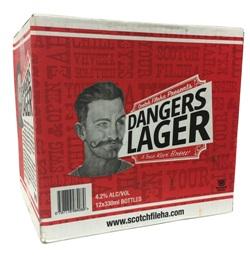 Dangers Lager (12 x 330ml bottles)